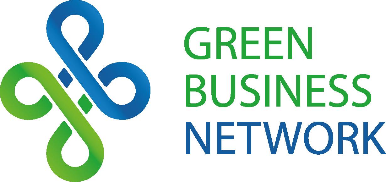 Green business logo